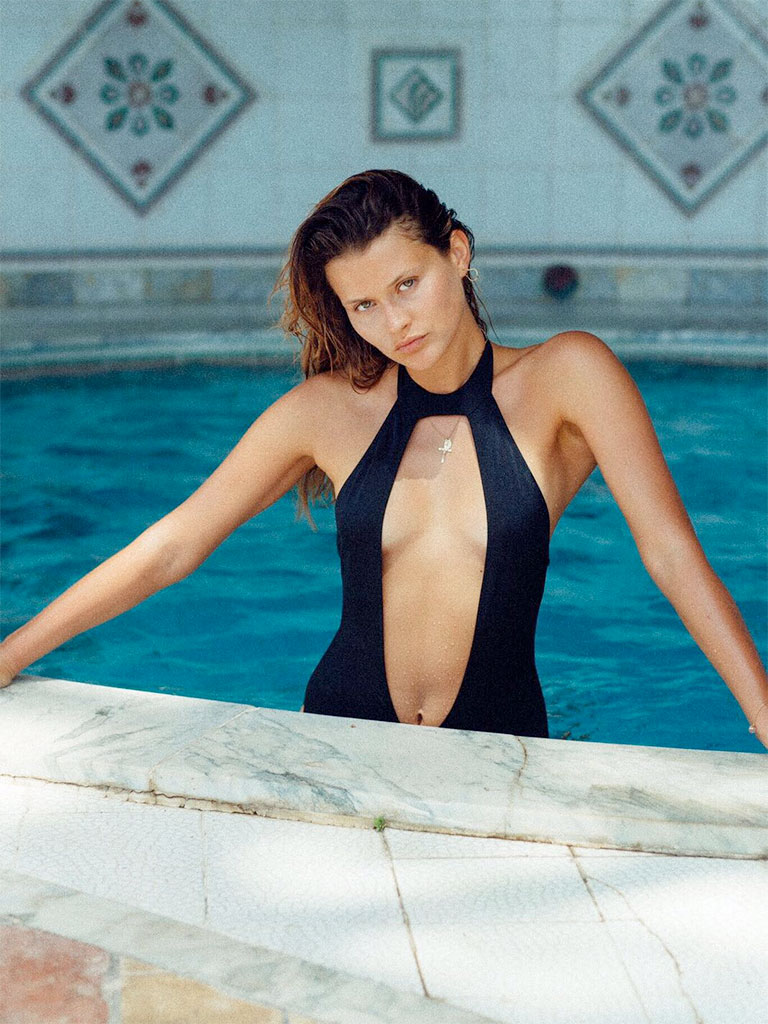 CHLOE ONE PIECE BLACK
